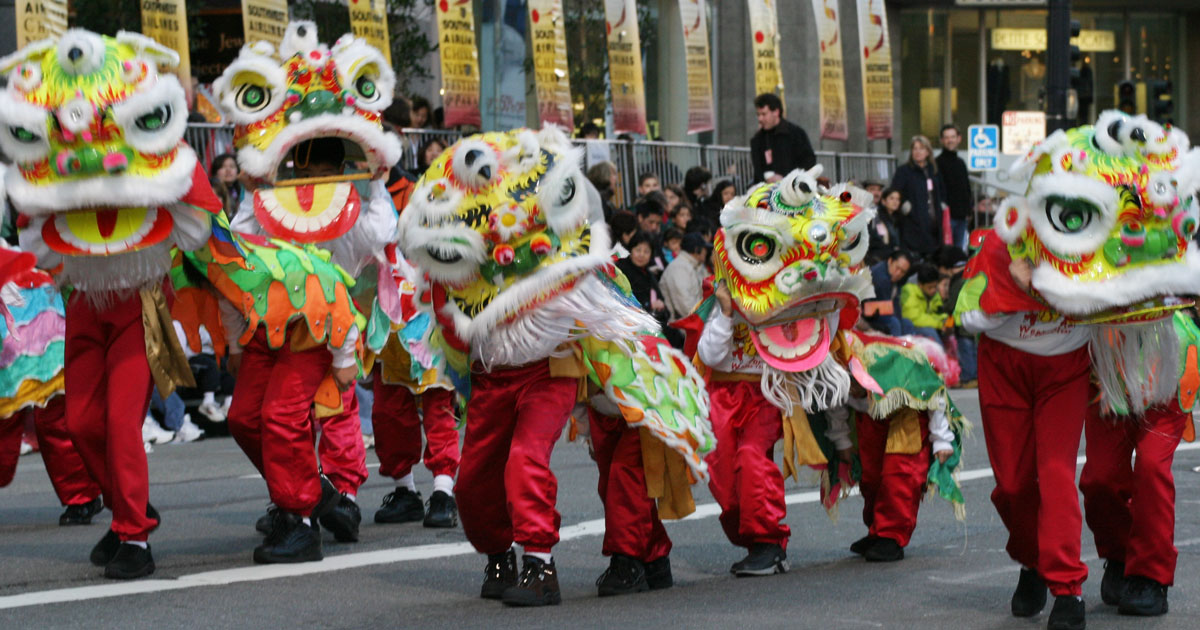 Celebrating Chinese New Year in North America