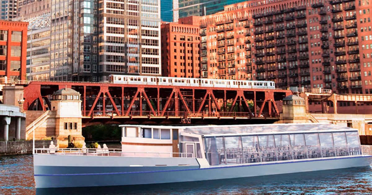 Odyssey Chicago is Bringing Dinner Cruises to the Chicago River
