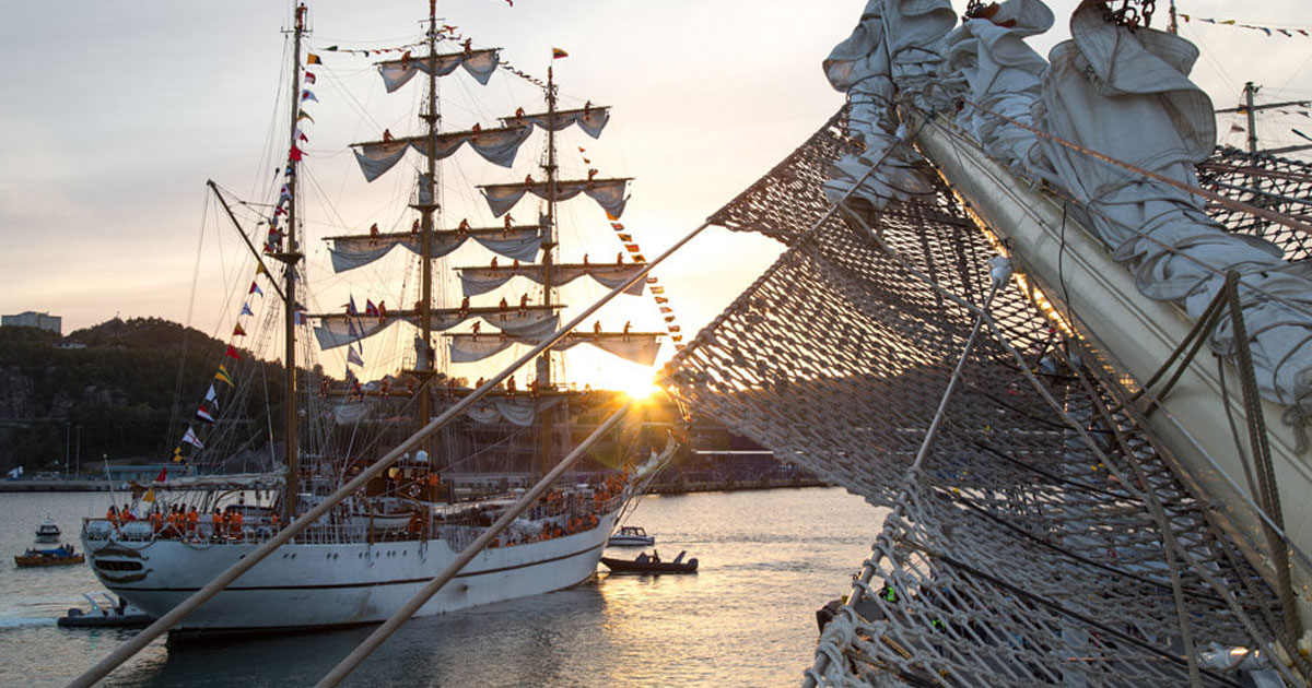 The Tall Ships Are Coming!