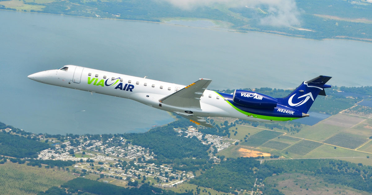 VIA Airlines Adds New Routes from Branson