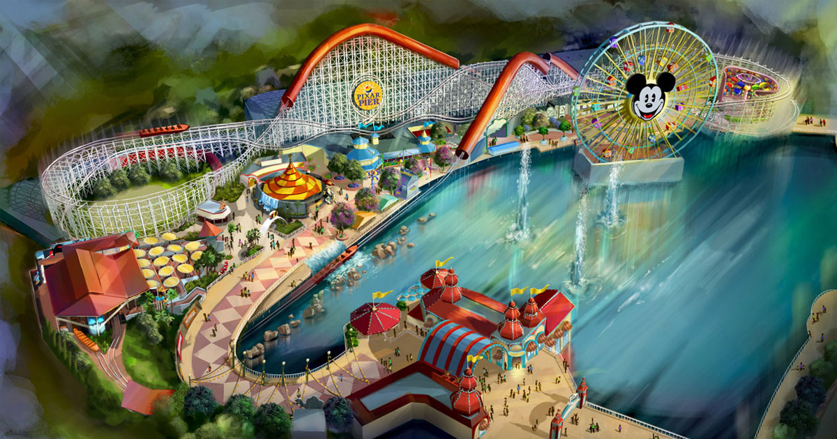 Pixar Pier Brings New Experiences to Disney California Adventure Park