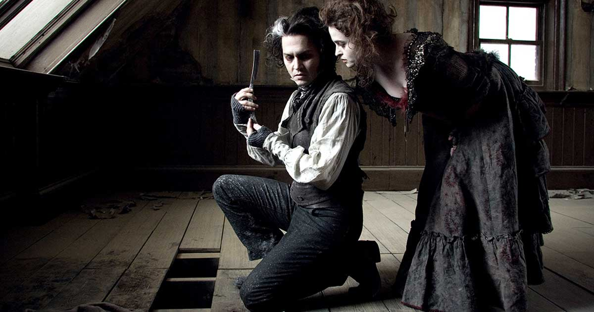 broadway to stream right now SweeneyTodd