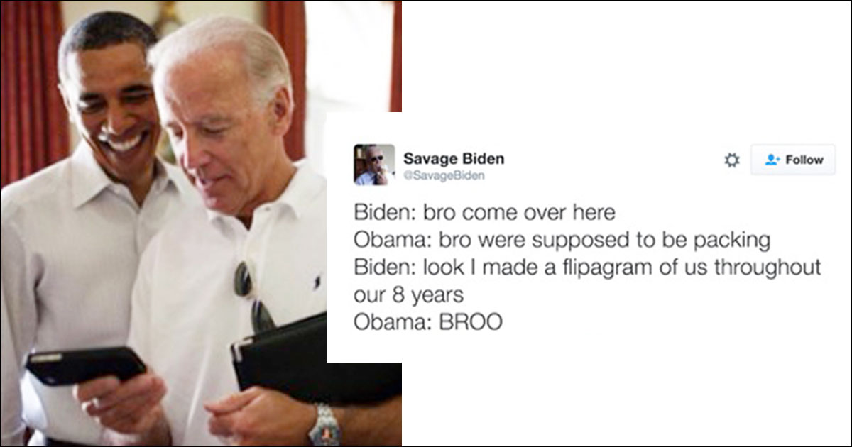Where Should Biden and Obama Go on Brocation?