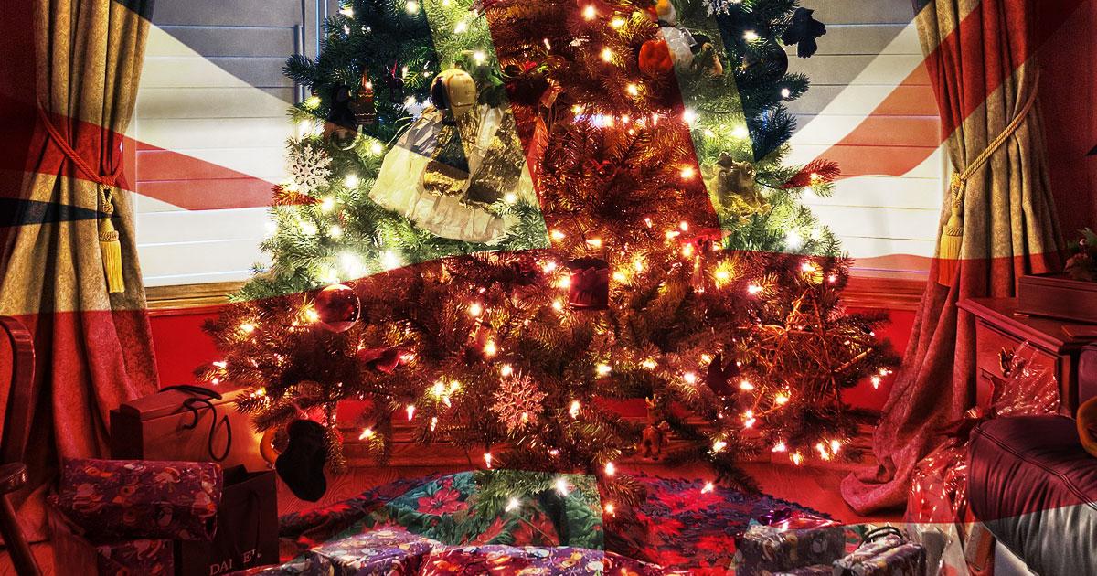 wishing you a very british christmas - British Christmas