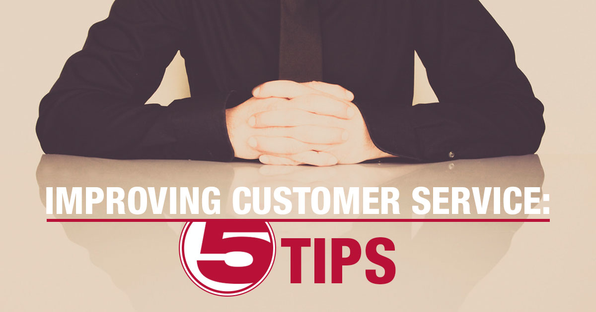 5 Steps for Handling Upset Customers