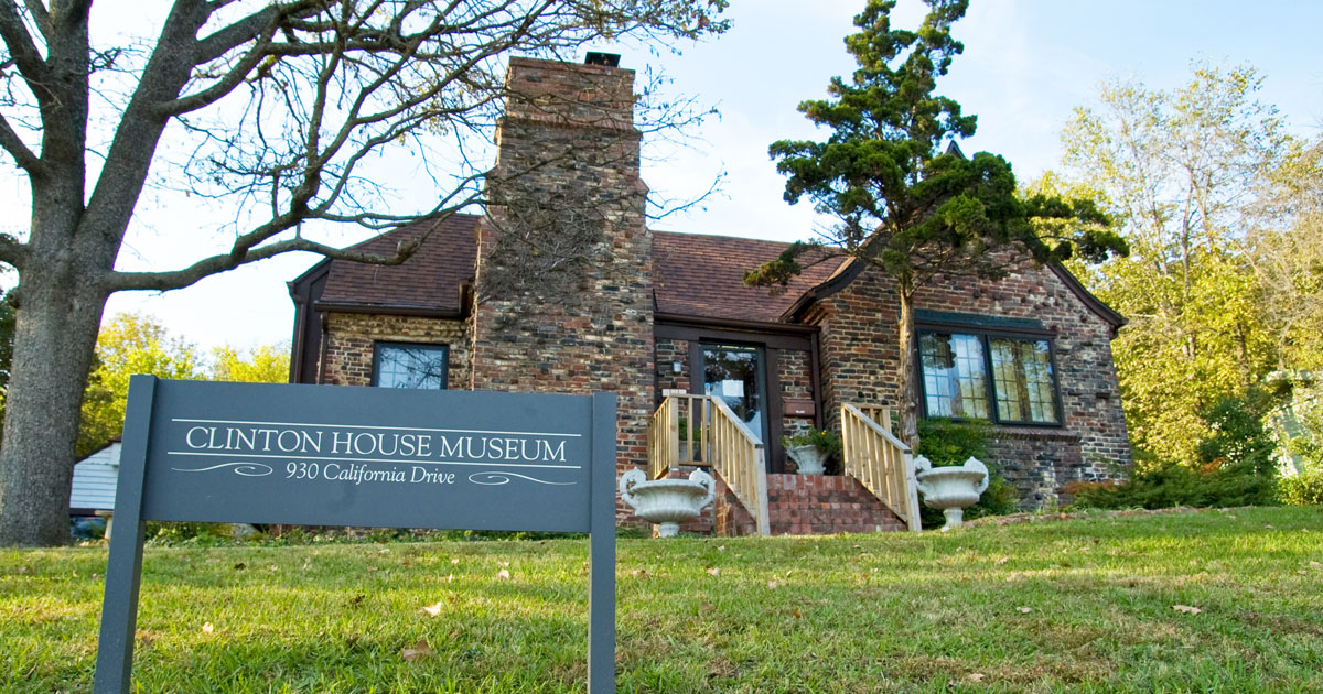 Tour the Clinton House Museum in Arkansas