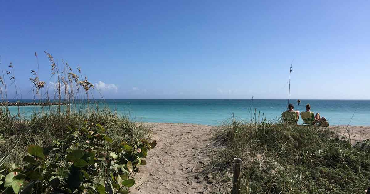 Escape the Cold in St. Lucie