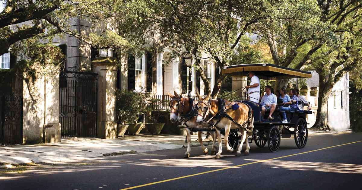 Your Guide to a Charleston Girls' Trip