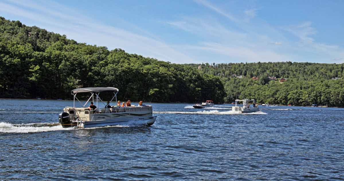 In The Mountains: Deep Creek Lake