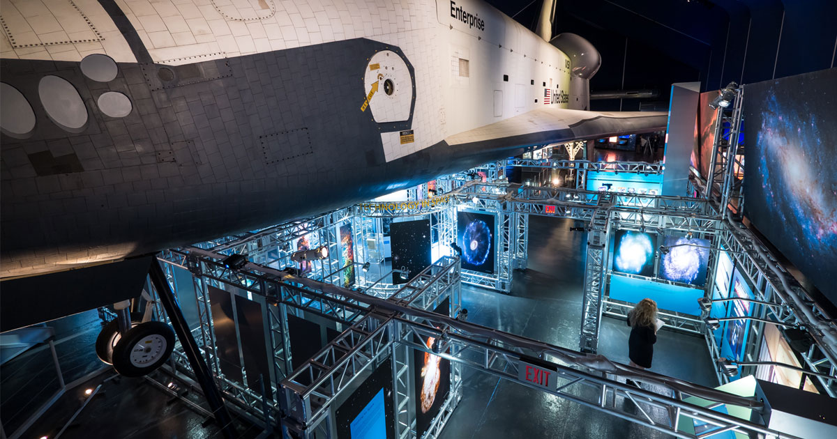 Intrepid Museum Celebrates Hubble's 25th Anniversary