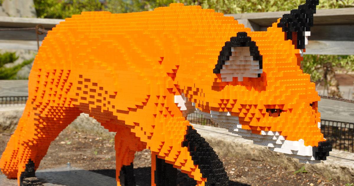 LEGO® Sculpture At Cape Fear Botanical Garden