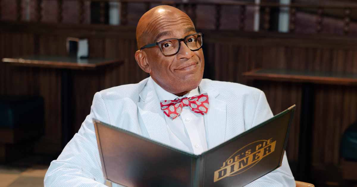 Al Roker Trades Cloudy Skies for Apple Pie