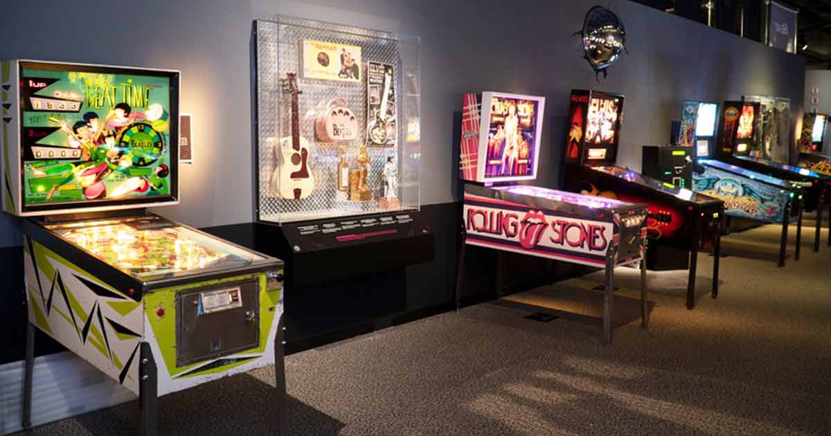 Become a Pinball Wizard at the Rock & Roll Hall of Fame